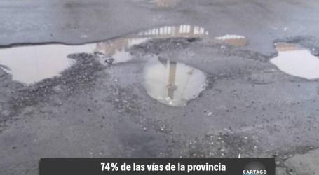 Municipalidad respalda informe de LANAMME sobre mal estado de vías en Cartago