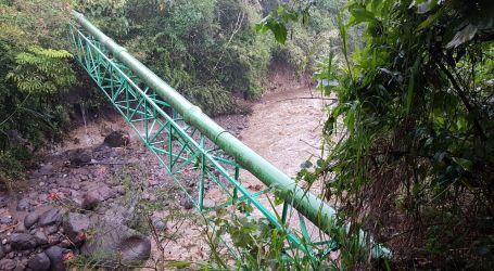Cabeza de agua afecta servicio de agua potable en El Carmen de Cartago