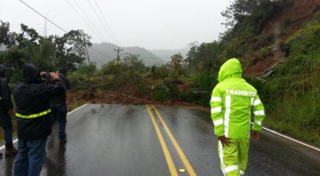 Ruta entre Cartago y Pérez Zeledón de las más afectadas del país