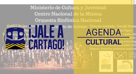 Agenda Cultural ¡Jale a Cartago! del 12 al 19 de Octubre
