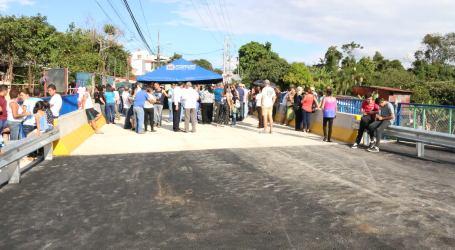 Municipalidad invirtió ¢116 millones en el Puente Piedra