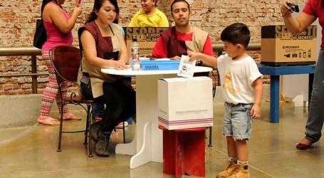 Niños y niñas podrán votar en Cartago el día de las elecciones