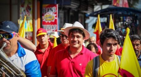 Carlos Alvarado arrasa en la provincia de Cartago
