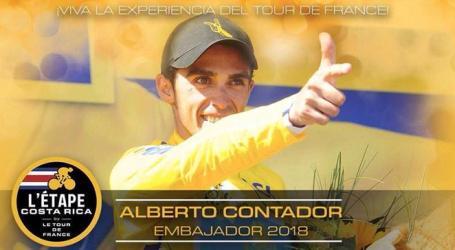 Ciclista Alberto Contador estará en Costa Rica por primera vez