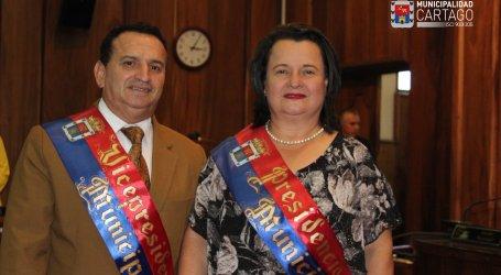 Unión de partidos lleva a una mujer a presidir el Concejo Municipal de Cartago