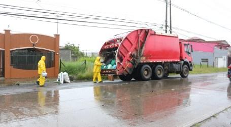 Horario especial de recolección de basura por feriado del 02 de agosto