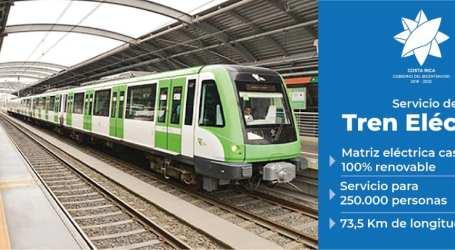De Paraíso a Alajuela, así será la ruta del Tren Eléctrico del GAM