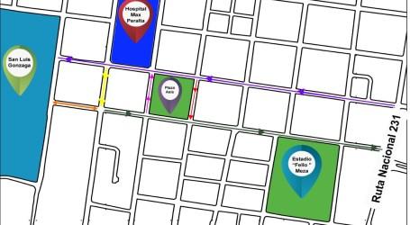 Inicia reordenamiento vial del casco urbano de Cartago