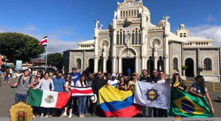 Cartago es el epicentro antes de la Jornada Mundial de la Juventud en Panamá