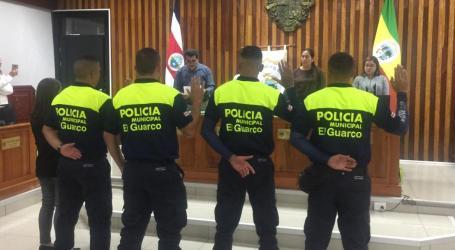 El Guarco cuenta con Policía Municipal y sistema de video vigilancia