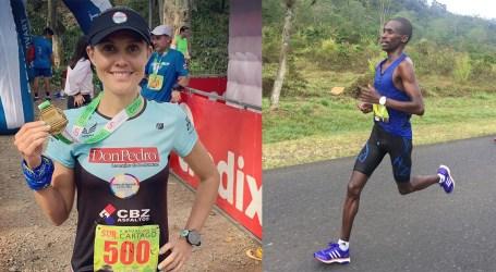 Keniano y Nutricionista ganaron la Maratón de Cartago 2019