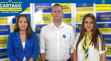 Restauración define candidatos para elecciones municipales en Cartago