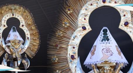 Conozca el nuevo vestido de la Virgen de los Ángeles