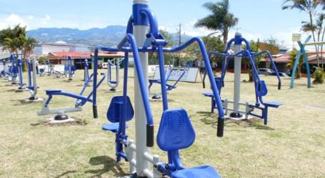 Residencial Cartago cuenta con un nuevo parque saludable