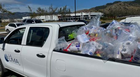 Zona Franca La Lima hace donación de implementos de salud y alimentos a afectados Covid-19