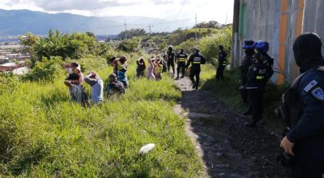 Operativos policiales acaban con búnkers en Los Diques de Cartago
