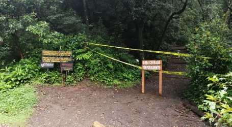 Senderos de Parque Prusia cerrados por deslizamientos del Volcán Irazú
