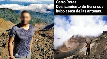 Personas arriesgan su vida y visitan el área del deslizamiento del Volcán Irazú