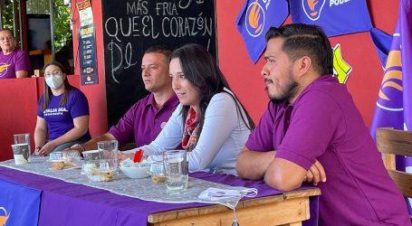Partido Unidos Podemos presenta papeleta de diputados en Cartago con experiencia política