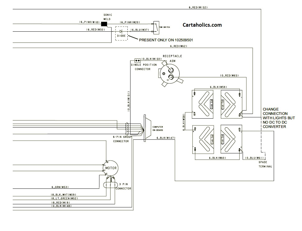 Club Car Ds Headlight Wiring Diagram - Wiring Diagram