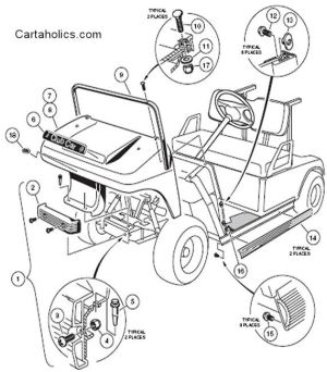 Need Info on Club Car Body Removal | Cartaholics Golf Cart