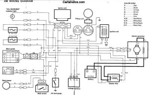 Yamaha G2 J38 Golf Cart Wiring Diagram  Gas | Cartaholics