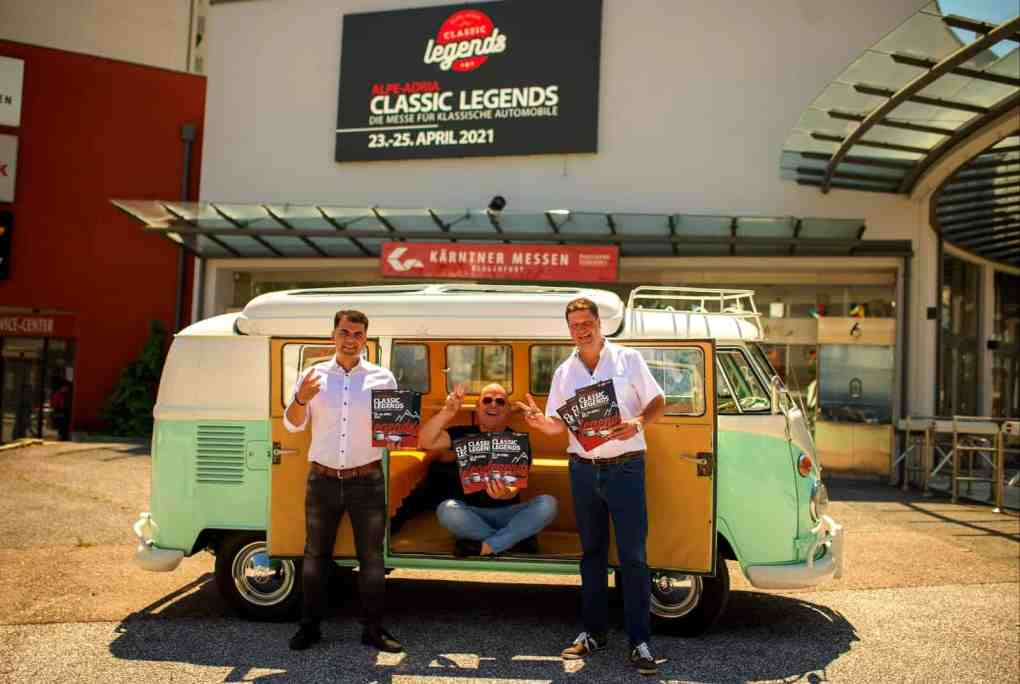 2021 CAR Team Ferlach Oldtimermesse Klagenfurt Classic Legends Johannes Habich 2