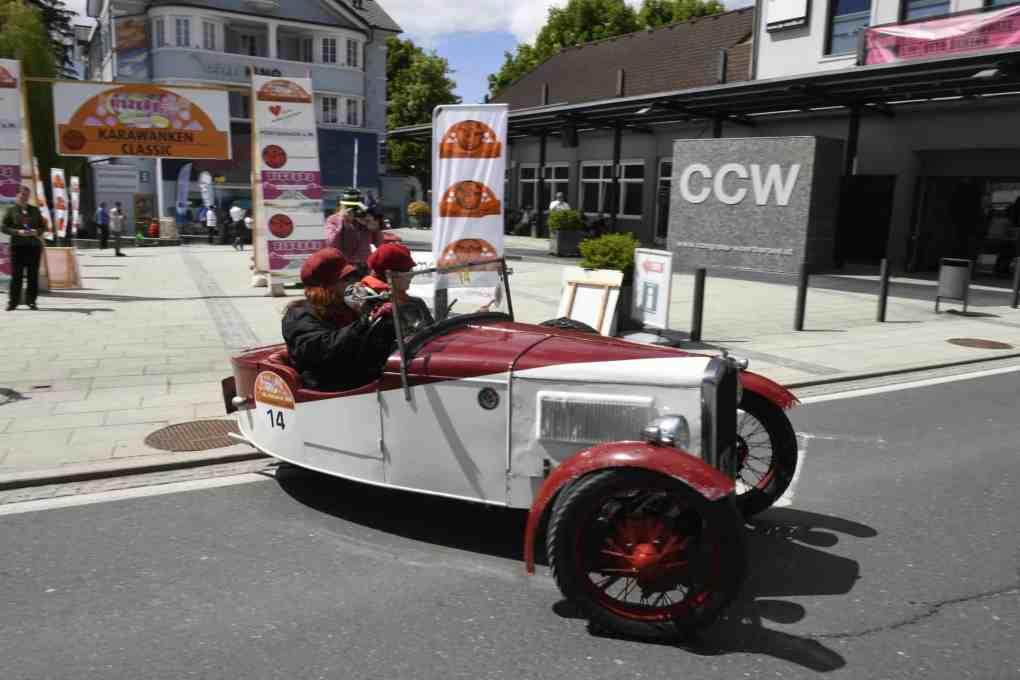 2021 CAR Team Ferlach Oldtimermesse Klagenfurt Classic Legends Johannes Habich 5