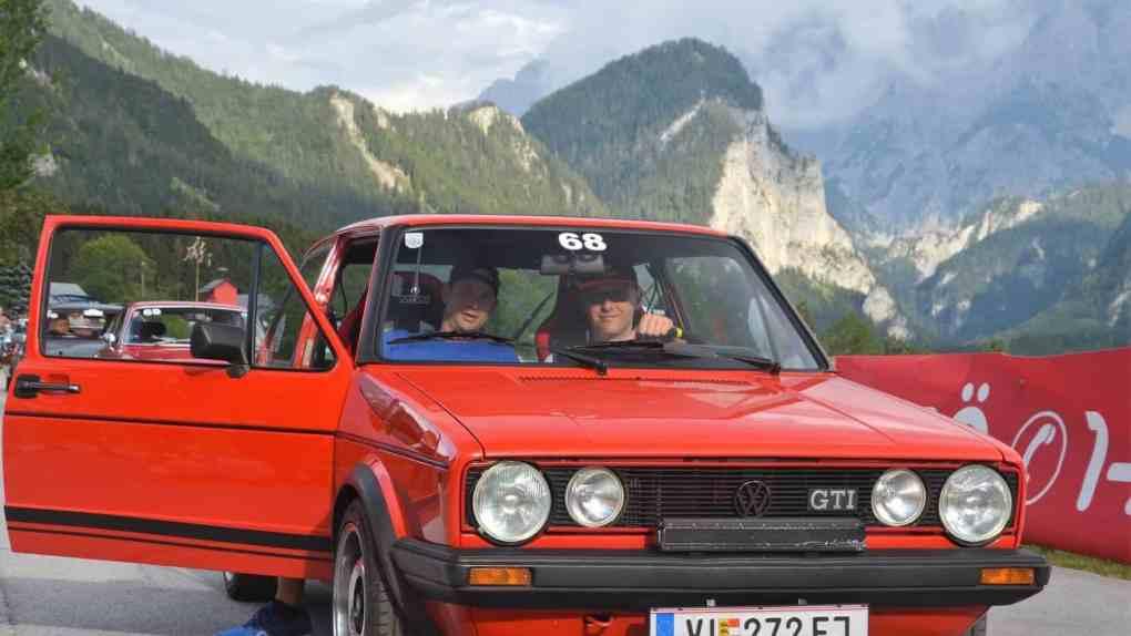 Erstmals bei der FIZZERS-Karawanken-Classic DELLA PIETRA Marco, Golf GTI MK I, Baujahr 1982