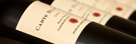 Carte Blanche Winery lineup