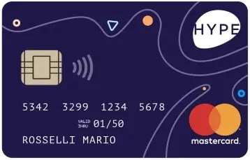 Carta Hype bonus 2020 gratis