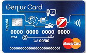 Carta prepagata UniCredit Genius Card