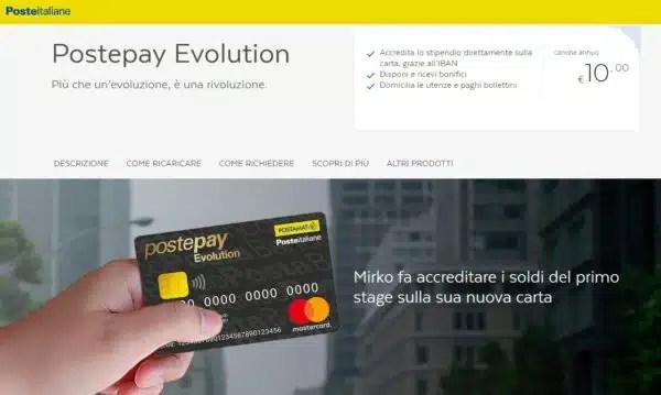 Postepay Evolution è Una Carta Di Credito Ecco Una Risposta
