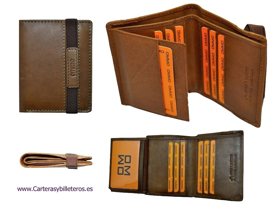 Leather Wallet Credit Card Holder