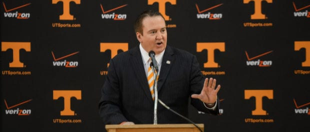 Vols tab Tyndall as new head coach
