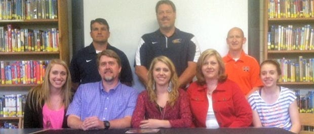 Cloudland's Courtney Wilson signs with Milligan