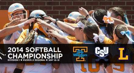 Tennessee softball to host Knoxville Regional