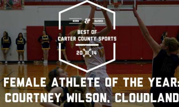 Female Athlete of the Year: Courtney Wilson, Cloudland
