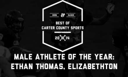Elizabethton's Thomas claims Best of CCS Male Athlete honor