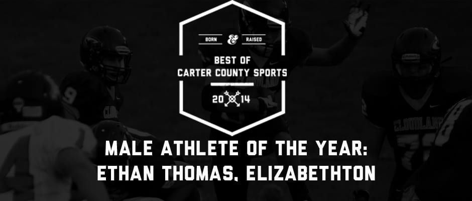 Elizabethton's Thomas claims Best of CCS Male Athlete honor