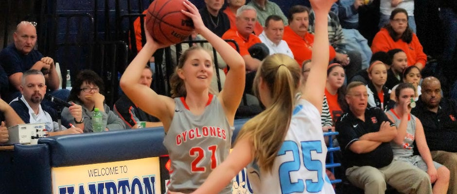 Lady Cyclones dispatch Hampton