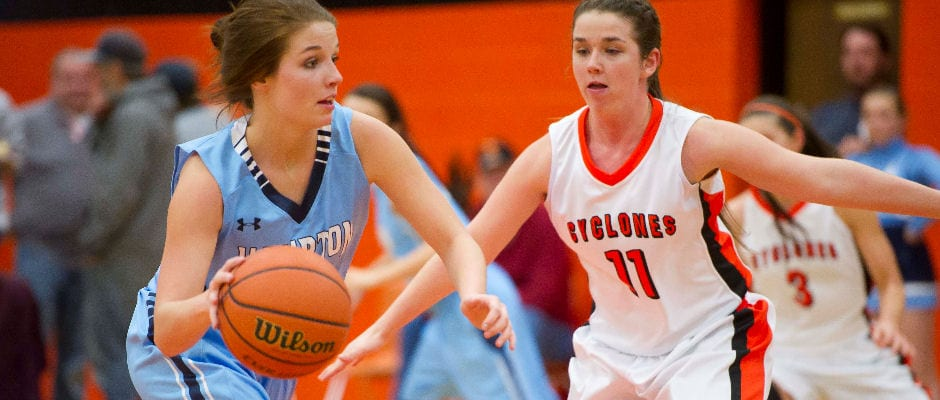 Lady Cyclones rout Hampton for 14th win of the season