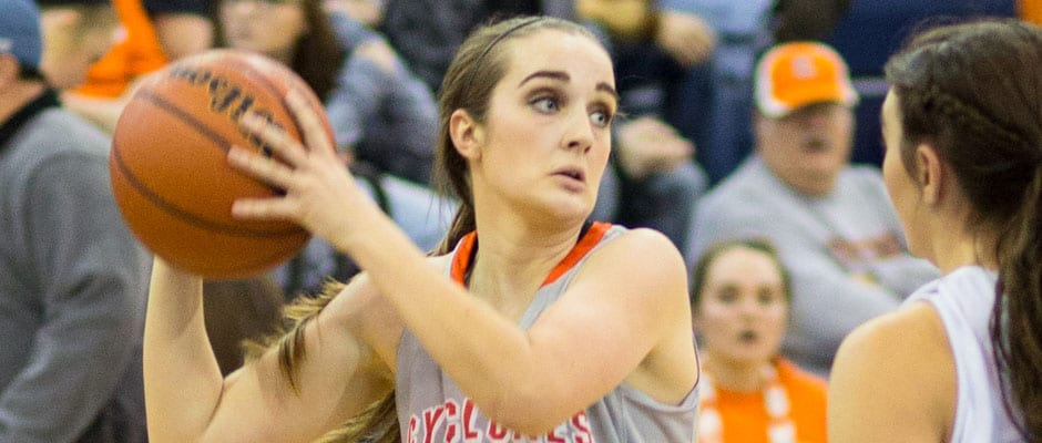 Lady Cyclones roll, Cyclones hold on against Johnson County