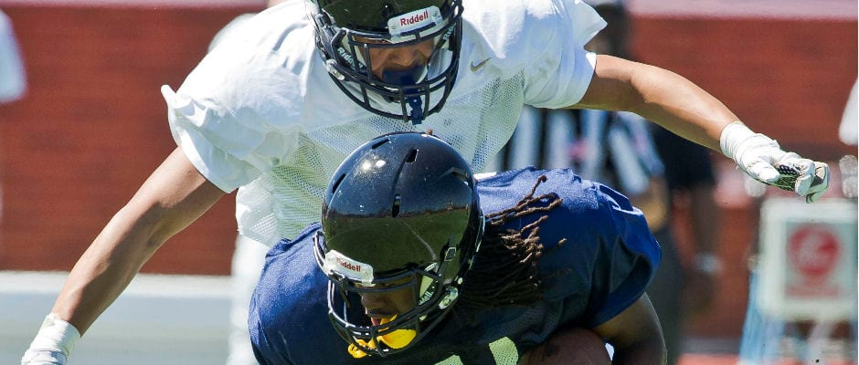 Former Unaka standout Anderson shines in Blue and Gold game