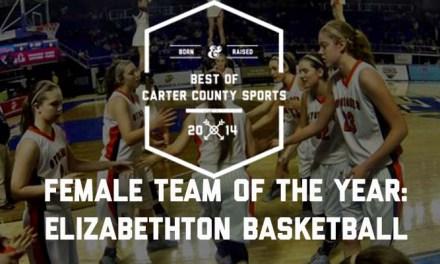 Elizabethton basketball claims female team of the year honor