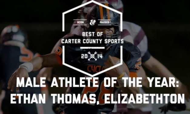 Thomas named Male Athlete of the Year
