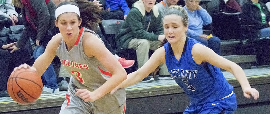 Lady Cyclones pull away for win
