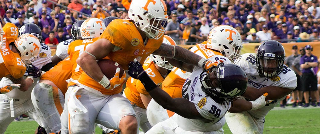 Vols roll to dominating win in Outback Bowl
