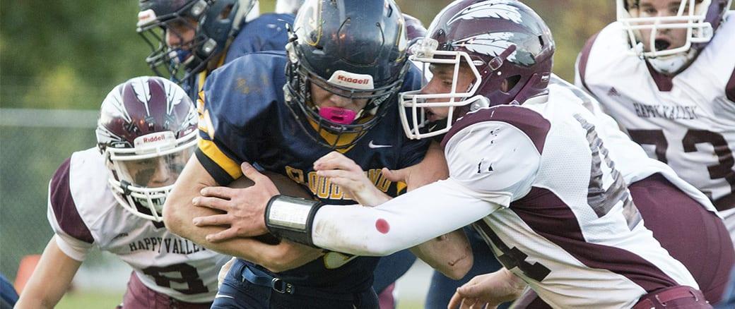 Photo Gallery: Happy Valley at Cloudland JV football