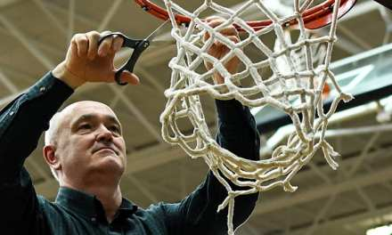 Photo Gallery: Hampton girls cut down the nets